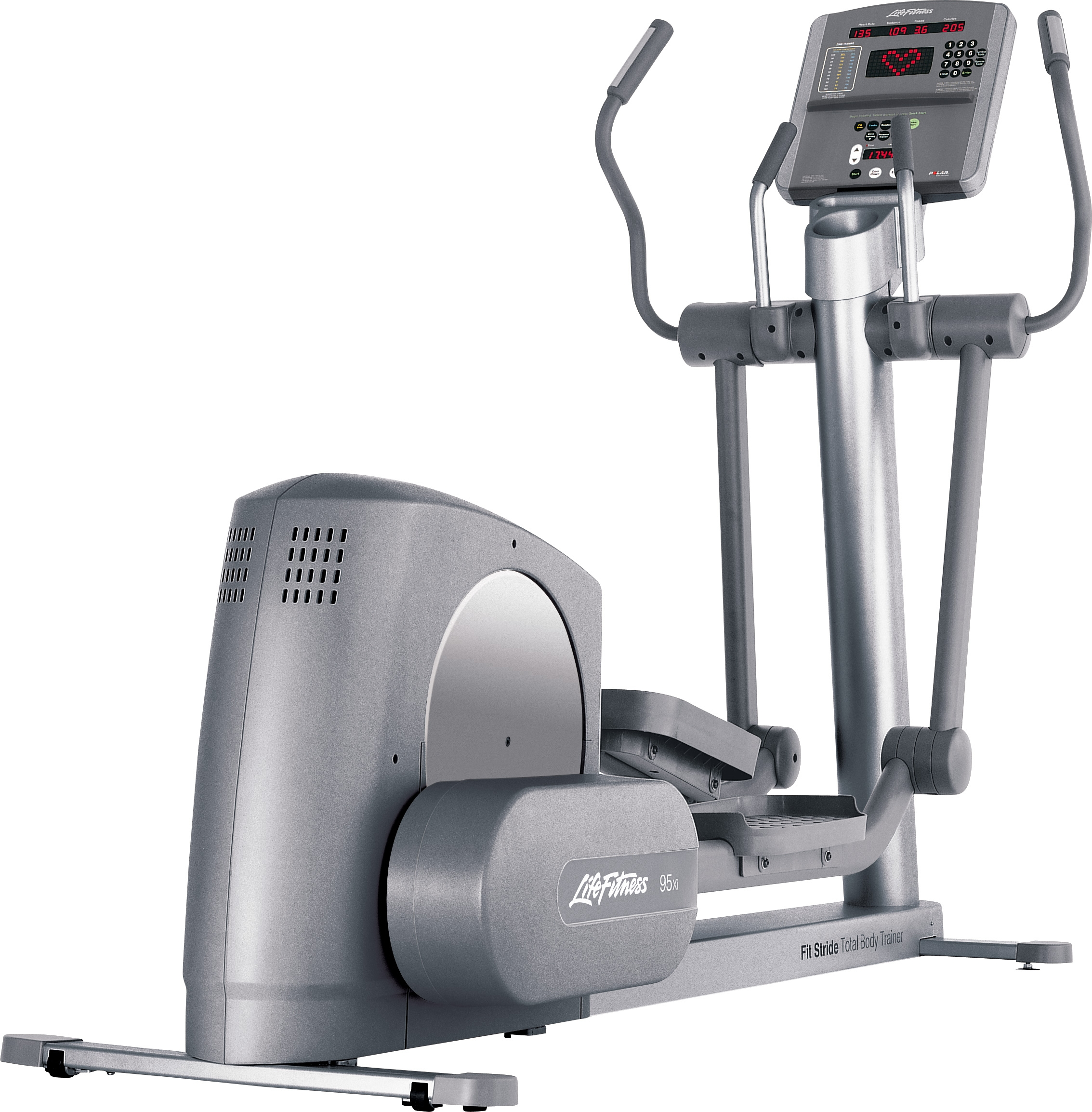 Life Fitness Silver 95xi Cross Trainer Refurbished At